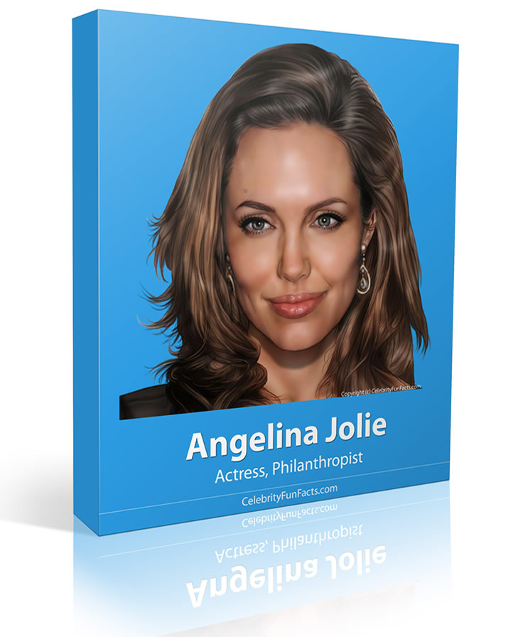 Angelina Jolie - Large - Celebrity Fun Facts