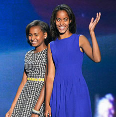Barack Obama Photo 5 - Malia and Sasha Obama - People With Impact