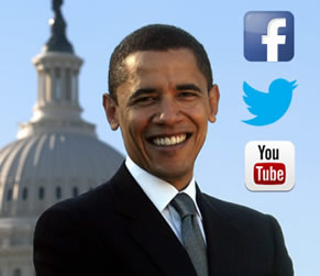 Barack Obama Photo 6 - Social Media Facebook Twitter YouTube - People With Impact
