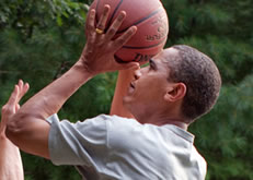 Barack Obama Photo 8 - Basketball - People With Impact