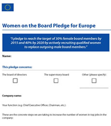 Bernard Arnault People With Impact LVMH Pledge Women For Europe Board