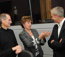 Bernard Arnault People With Impact LVMH Steve Jobs Nelie Kroes Europena Commission