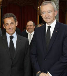 Bernard Arnault People With Impact Nikolas Sarkozy