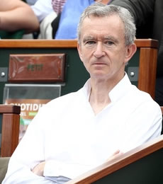 Bernard Arnault People With Impact Teniis Rodger Federer