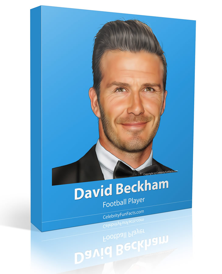 David Beckham - Large - Celebrity Fun Facts