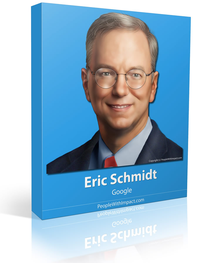 Eric Schmidt - Large - People With Impact - Google Executive Chairman Former CEO