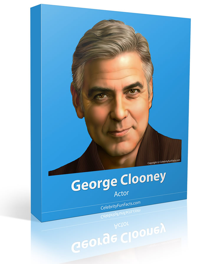 George Clooney - Large - Celebrity Fun Facts