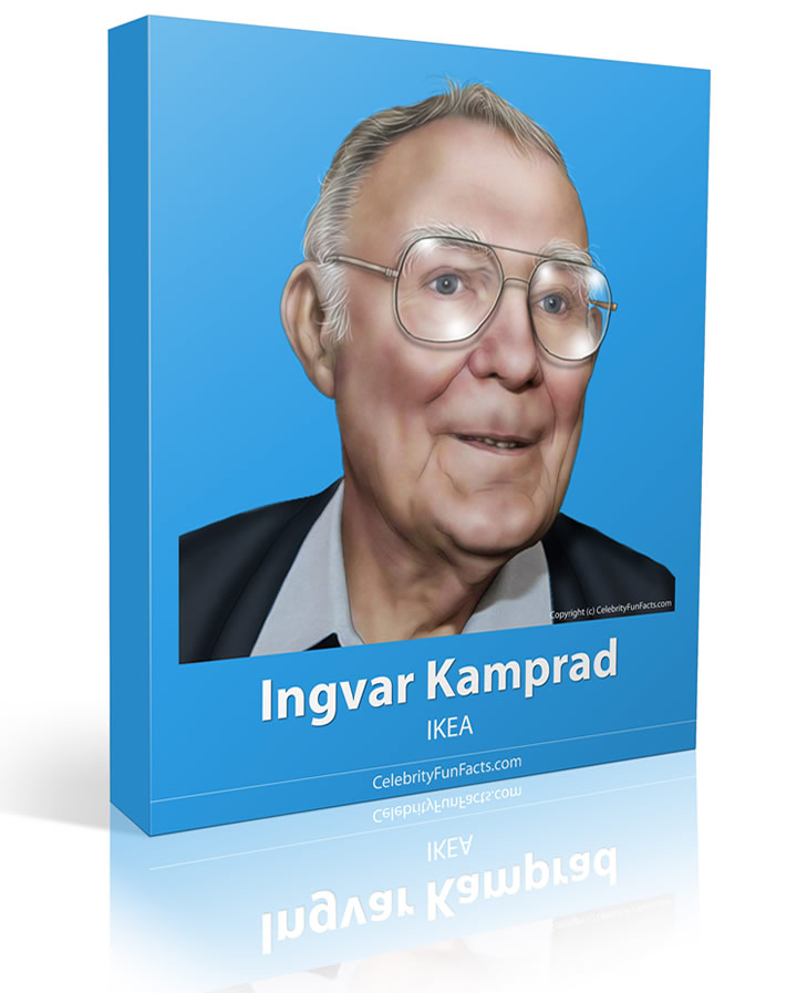 Ingvar Kamprad - Large - Celebrity Fun Facts