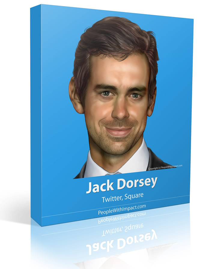 Jack Dorsey - Large - People With Impact - Twitter - Square