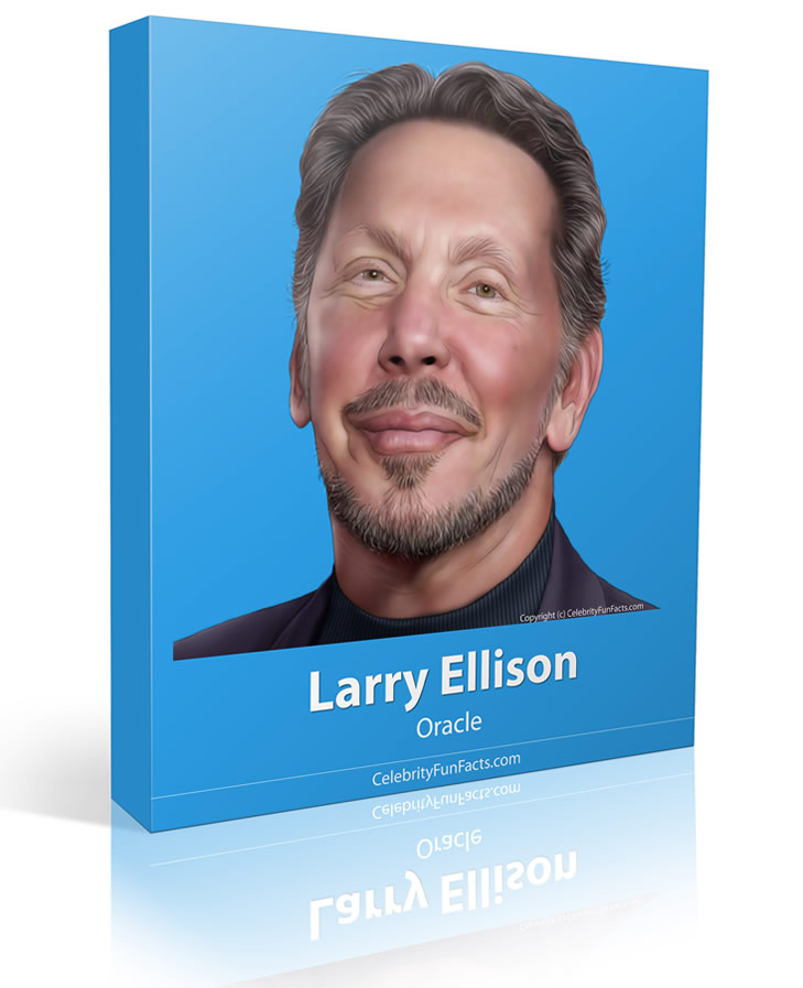 Larry Ellison - Large - Celebrity Fun Facts