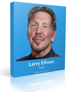 Larry Ellison - Small - Celebrity Fun Facts