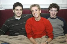 Mark Zuckerberg Photo 2 - Harvard Dustin Moskovitz and Chris Hughes - People With Impact