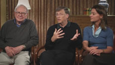 Mark Zuckerberg Pierre Omidyar Bill Gates Warren Buffet Photo 7 - Giving Pledge - People With Impact