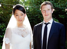 Mark Zuckerberg Photo 8 Priscilla Chan Marriage - People With Impact