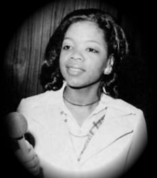 Oprah Winfrey As A Young Child