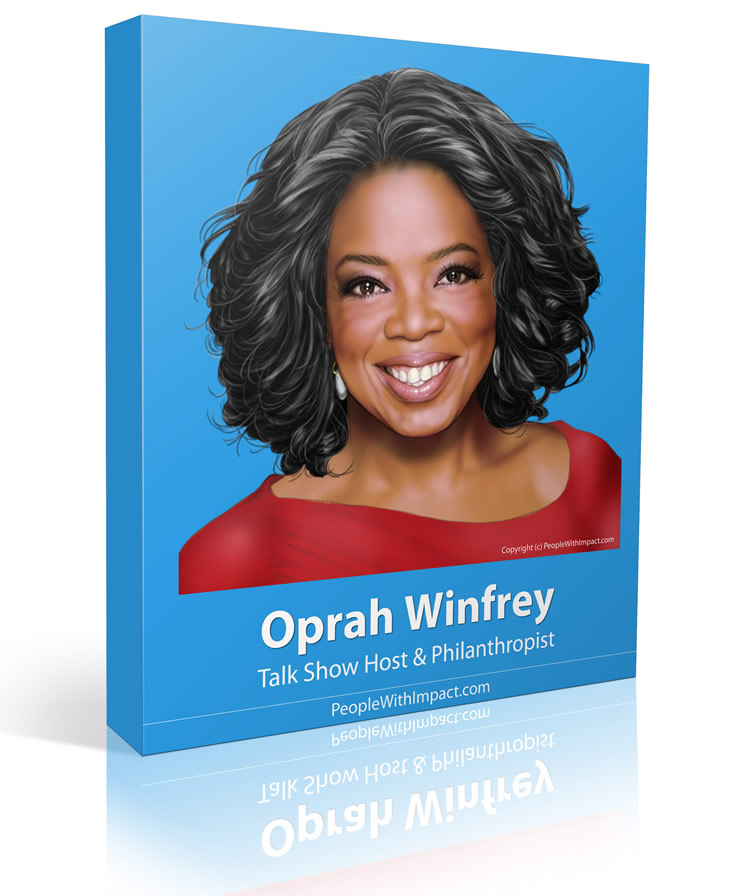 Oprah Winfrey - Large - People With Impact