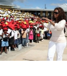 Oprah Winfrey People With Impact 16 Children