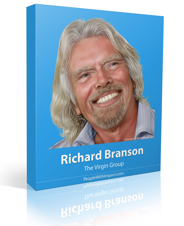 Richard Branson - Large - People With Impacrt