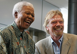 Richard Branson Photo 2 - Nelson Mandela