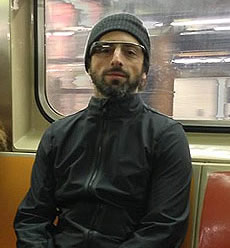 Sergey Brin Photo 6 - Google Glass NYC Subway - People With Impact