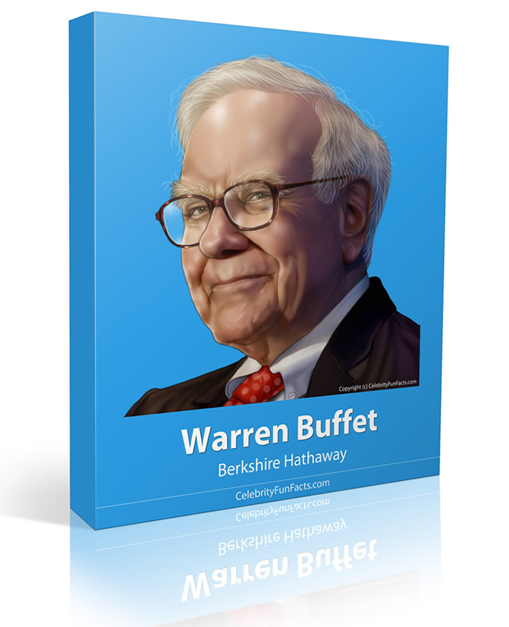 Warren Buffet - Large - Celebrity Fun Facts